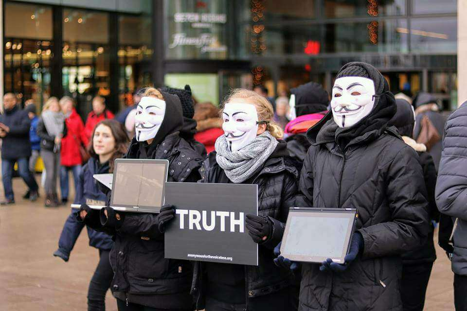 anonymous for voiceless masked activisits