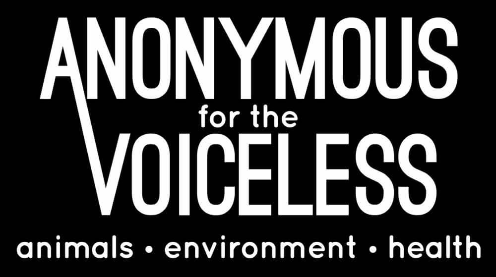 anonymous for voiceless banner